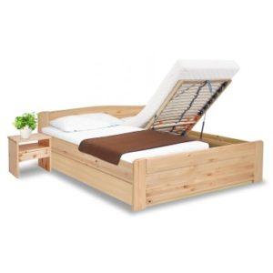 postele s úložným prostorem