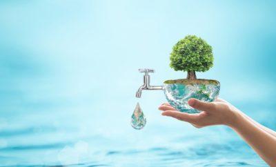 šetření vodou